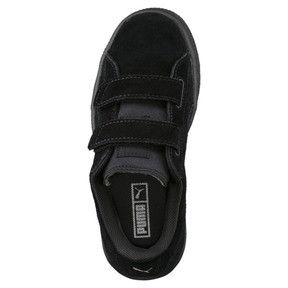Thumbnail 5 of Basket Suede à 2 sangles pour enfant, Puma Black-Puma Silver, medium