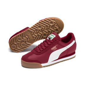 Thumbnail 2 of Roma Basic Summer Sneakers JR, Rhubarb-Puma White, medium