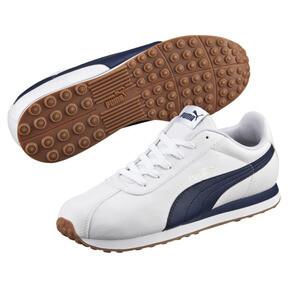 Thumbnail 2 of Turin Men's Sneakers, Puma White-Peacoat-1, medium