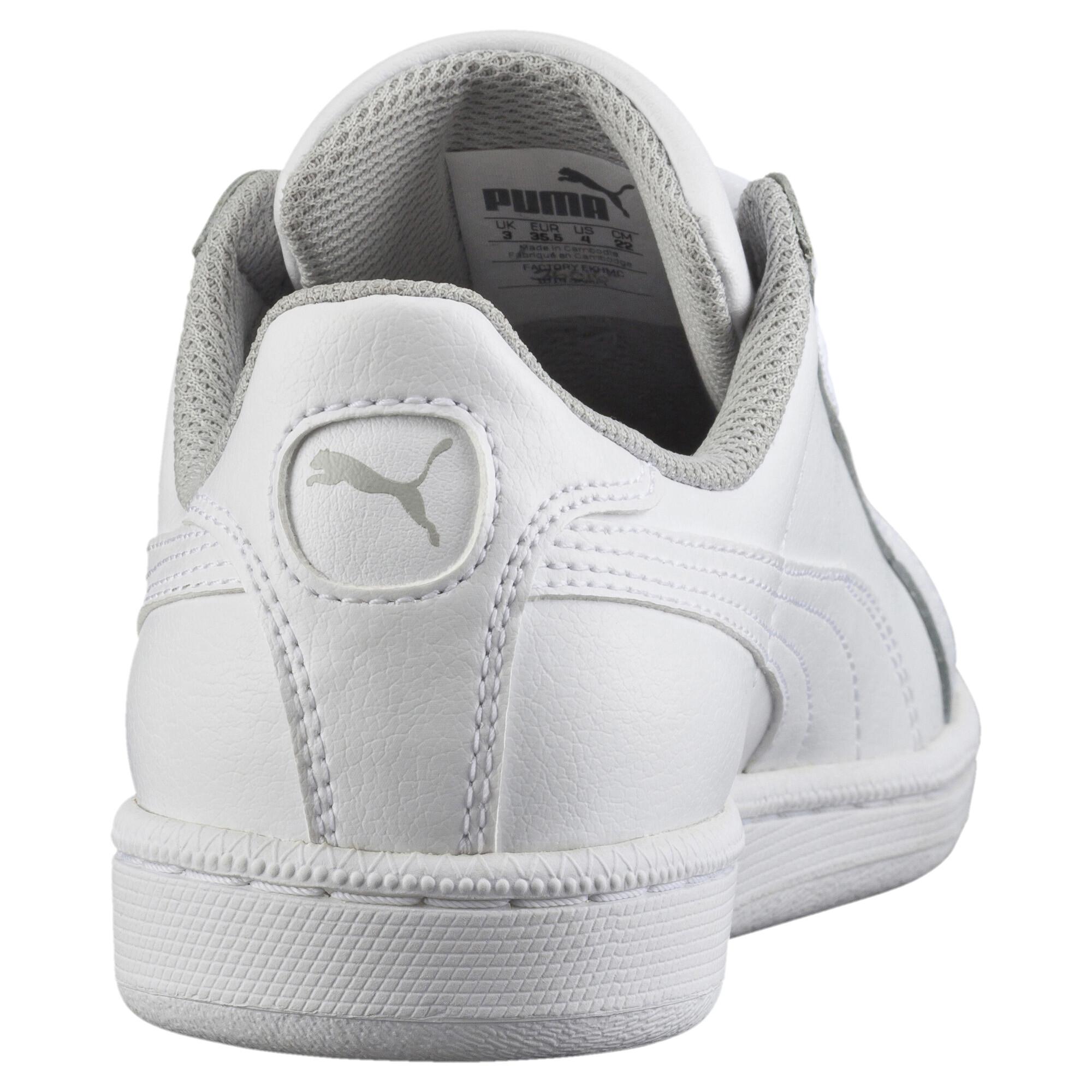 PUMA-Smash-Jr-Sneaker-Unisex-Schuhe-Kinder-Neu Indexbild 8
