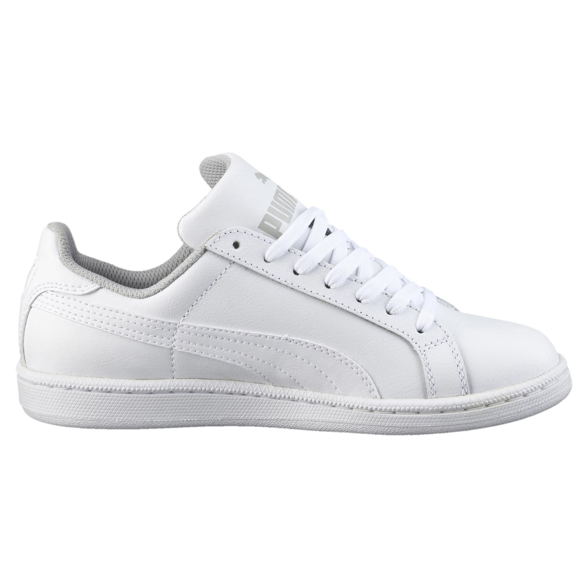 PUMA-Smash-Jr-Sneaker-Unisex-Schuhe-Kinder-Neu Indexbild 10