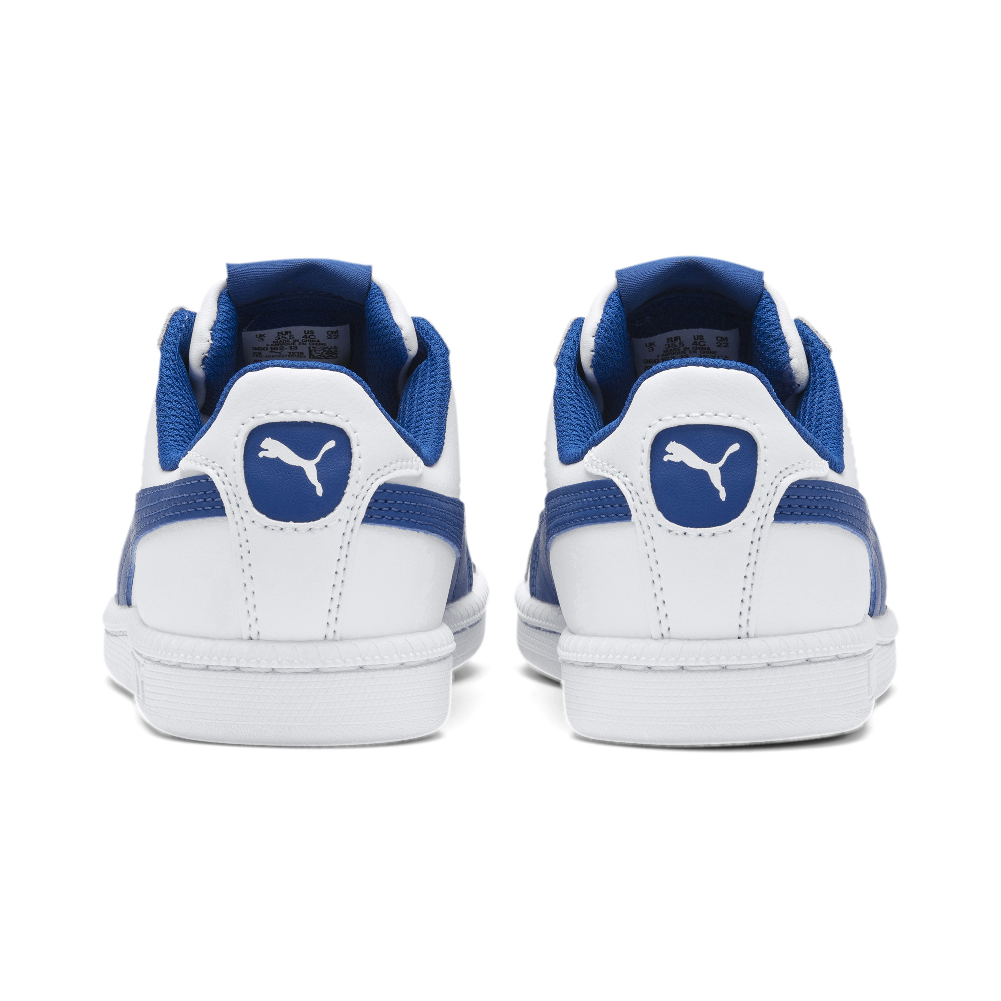 PUMA-Smash-Jr-Sneaker-Unisex-Schuhe-Kinder-Neu Indexbild 13