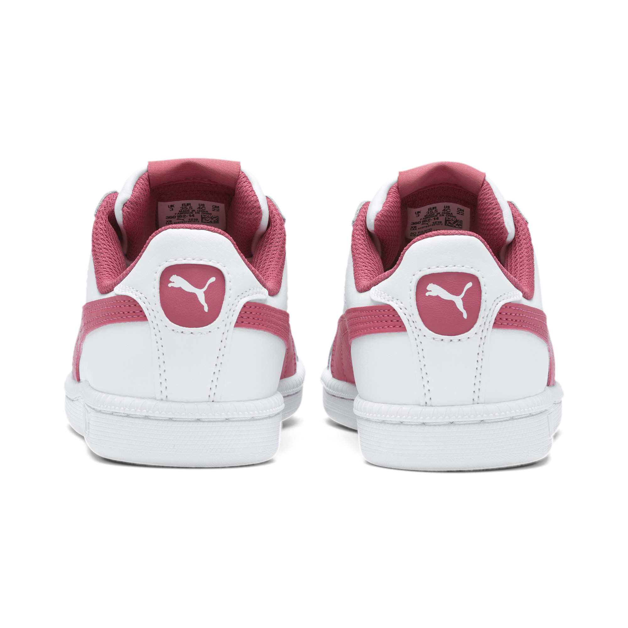 PUMA-Smash-Jr-Sneaker-Unisex-Schuhe-Kinder-Neu Indexbild 18