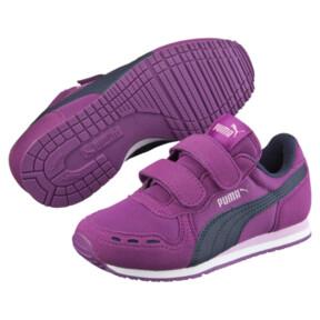 Thumbnail 2 of Cabana Racer Mesh AC Little Kids' Shoes, Hollyhock-Peacoat, medium