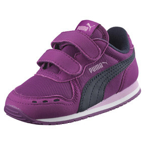 Thumbnail 1 of Cabana Racer Mesh AC Little Kids' Shoes, Hollyhock-Peacoat, medium