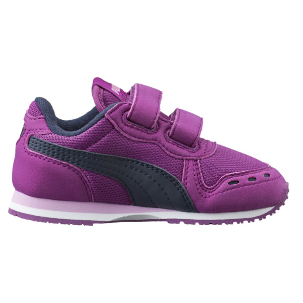 Cabana Racer Mesh AC Little Kids' Shoes, Hollyhock-Peacoat, large