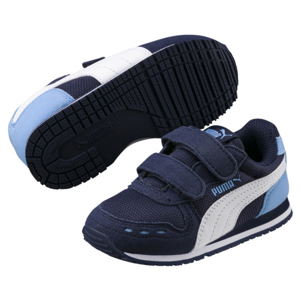 Cabana Racer Mesh AC Little Kids' Shoes, P.coat-P.Wht-Little Boy Blue, large