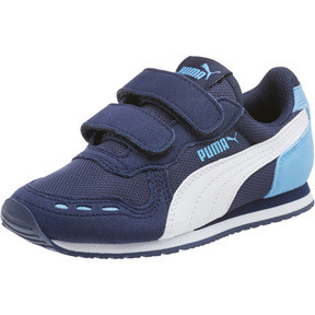 Thumbnail 1 of Cabana Racer Mesh AC Little Kids' Shoes, P.coat-P.Wht-Little Boy Blue, medium