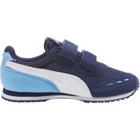 Thumbnail 3 of Cabana Racer Mesh AC Little Kids' Shoes, P.coat-P.Wht-Little Boy Blue, medium