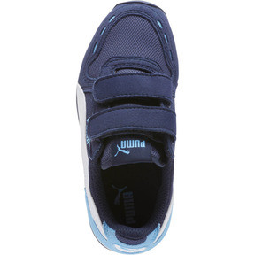 Thumbnail 5 of Cabana Racer Mesh AC Little Kids' Shoes, P.coat-P.Wht-Little Boy Blue, medium