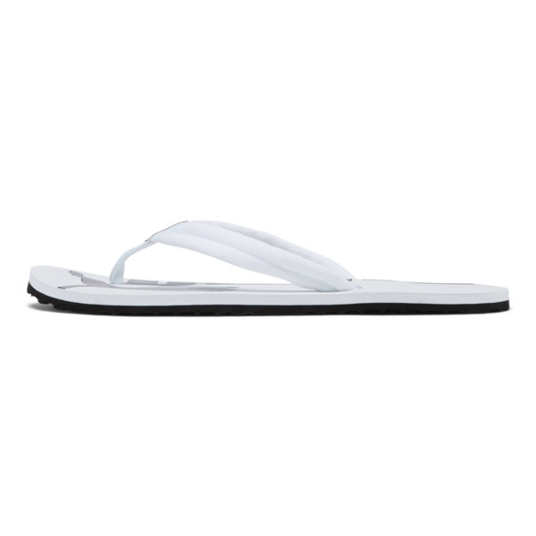 Epic Flip v2 Sandals, white-black, large