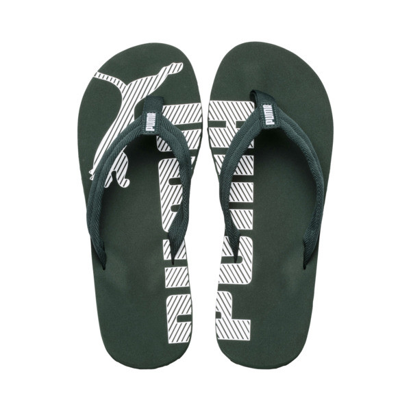 Epic Flip v2 Sandals, Ponderosa Pine-Puma White, large