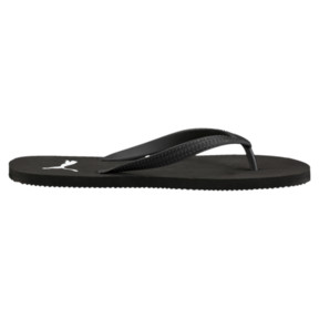 Thumbnail 4 of First Flip Sandals, black-white, medium