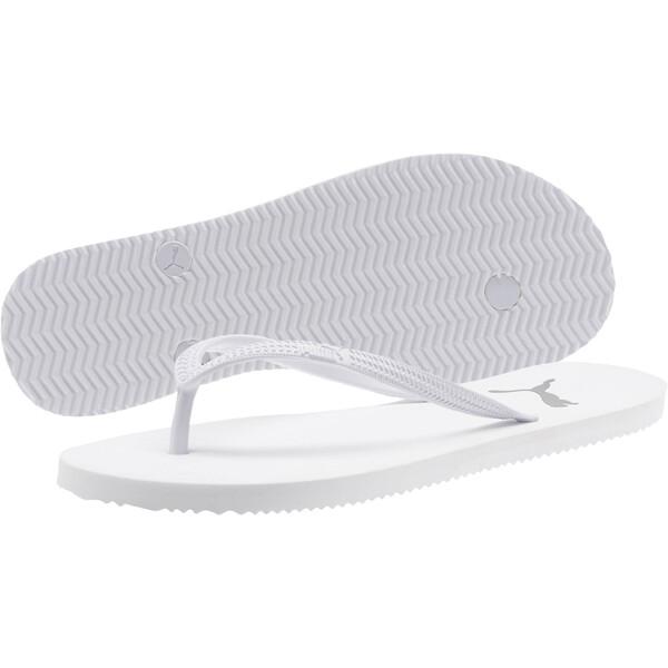 First Flip Women's Sandals, Puma White-Puma Black, large