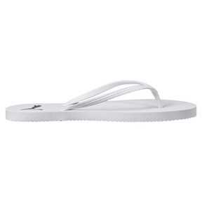 Thumbnail 3 of First Flip Damen Sandalen, Puma White-Puma Black, medium
