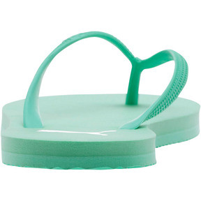 Thumbnail 4 of First Flip Women's Sandals, Biscay Green-Puma White, medium