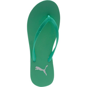 Thumbnail 5 of First Flip Women's Sandals, Biscay Green-Puma White, medium