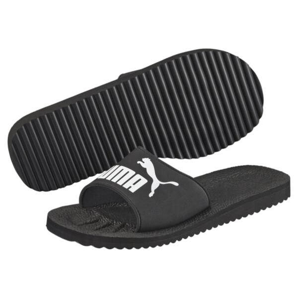 Purecat Slides, black-white, large