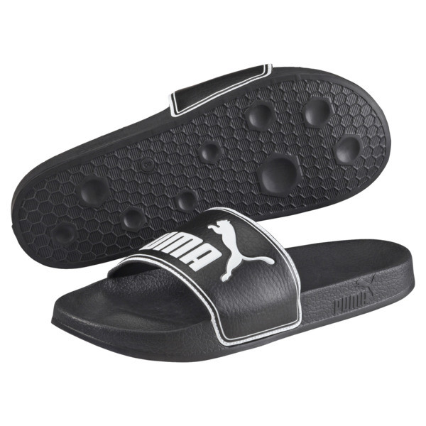 Leadcat Slide Badeschuhe, black-white, large