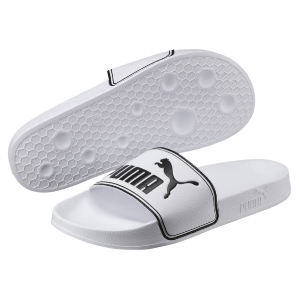 Leadcat Sandals, Puma White-Puma Black, large