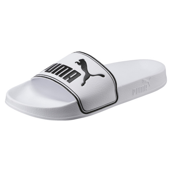 Chaussure de bain Leadcat Slide, Puma White-Puma Black, large