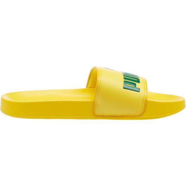 Leadcat Slides, Dandelion-Verdant Green, large