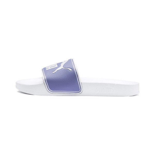 Chaussure de bain Leadcat Slide, Puma White-Sweet Lavender, large
