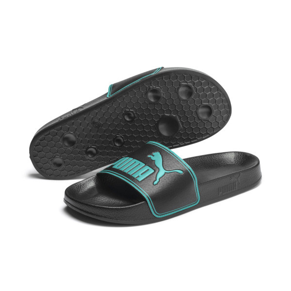 Leadcat sandalen, Puma Black-Blue Turquoise, large