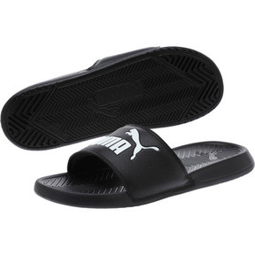 Thumbnail 2 of Popcat Slide Badeschuhe, black-black-white, medium