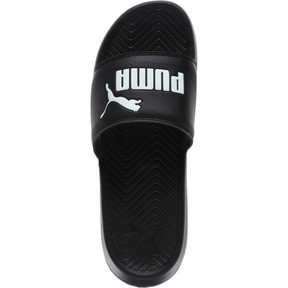 Thumbnail 5 of Popcat Slide Badeschuhe, black-black-white, medium
