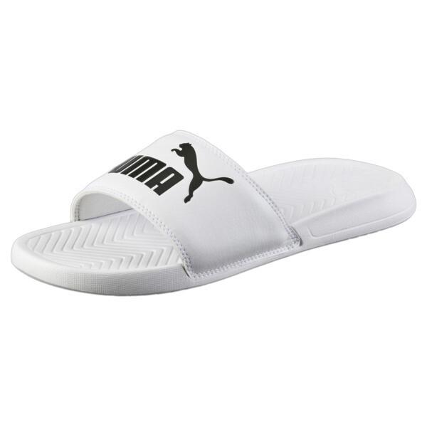 Popcat Slides, Puma White-Puma Black, large