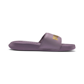 Thumbnail 5 of Popcat Sandals, Elderberry-Puma Team Gold, medium