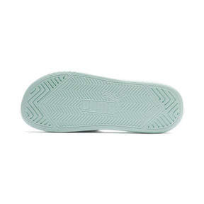 Thumbnail 3 of Popcat Slides, Puma White-Fair Aqua, medium