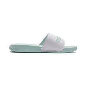 Thumbnail 5 of Popcat Slides, Puma White-Fair Aqua, medium