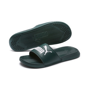 Thumbnail 2 of Chaussure de bain Popcat Slide, Ponderosa Pine-Puma White, medium
