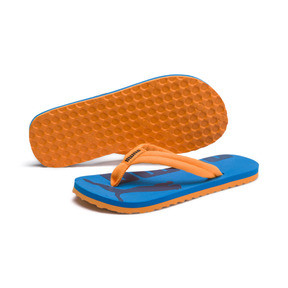 Thumbnail 2 of Epic Flip v2 Kids' Sandals, Orange Pop-Indigo Bunting, medium