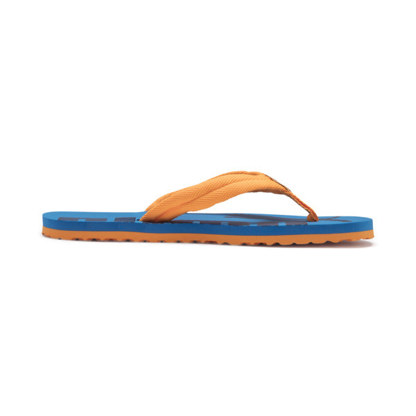 Epic Flip v2 Kids' Sandals, Orange Pop-Indigo Bunting, large