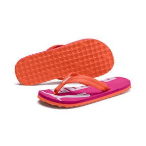 Thumbnail 2 of Epic Flip v2 Kids' Sandals, Nasturtium-Fuchsia Purple, medium