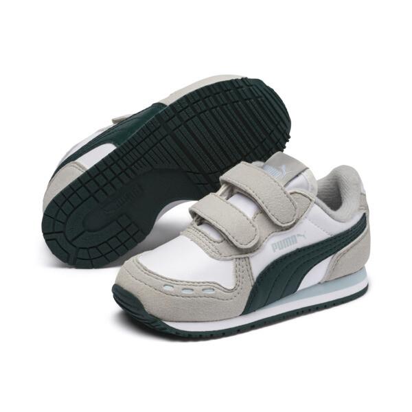 Zapatos Cabana Racer SL AC para niños, P.Wht-Gr.Violet-Ponder. Pine, grande