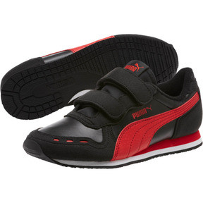 Thumbnail 2 of Cabana Racer SL AC Sneakers PS, Puma Black-High Risk Red, medium