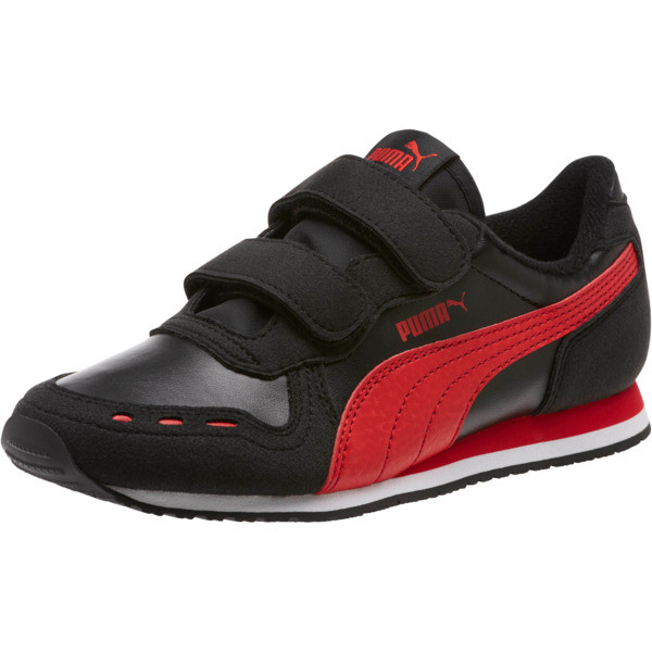 Cabana Racer SL AC Sneakers PS, Puma Black-High Risk Red, large