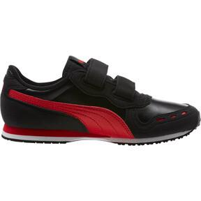 Thumbnail 3 of Cabana Racer SL AC Sneakers PS, Puma Black-High Risk Red, medium