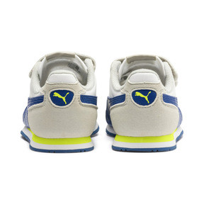 Thumbnail 3 of Cabana Racer SL AC Little Kids' Shoes, Puma White-Galaxy Blue, medium