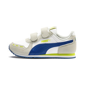 Thumbnail 1 of Cabana Racer SL AC Little Kids' Shoes, Puma White-Galaxy Blue, medium