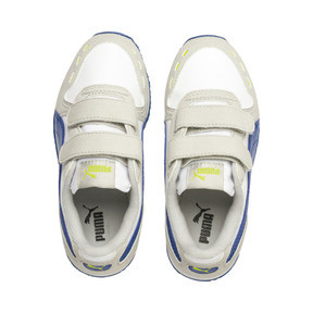 Thumbnail 6 of Cabana Racer SL AC Little Kids' Shoes, Puma White-Galaxy Blue, medium
