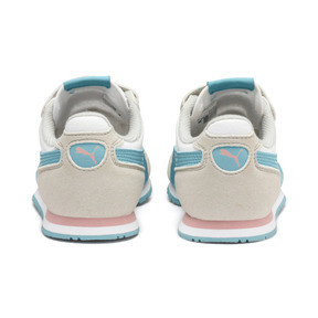 Thumbnail 3 of Cabana Racer SL AC Little Kids' Shoes, Puma White-Milky Blue, medium