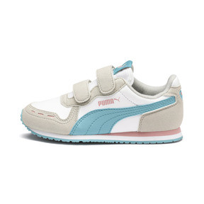 Thumbnail 1 of Cabana Racer SL AC Little Kids' Shoes, Puma White-Milky Blue, medium