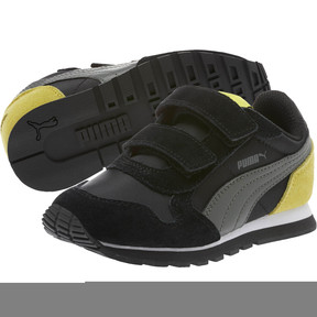 Thumbnail 2 of ST Runner NL Little Kids' Shoes, Puma Black-Dark Shadow, medium
