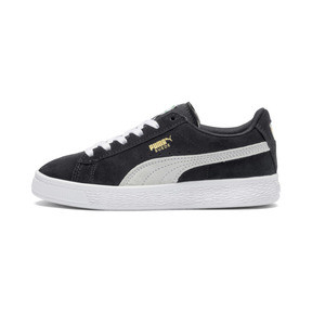 Thumbnail 1 of Suede Kinder Preschool Sneaker, Puma Black-Puma White, medium
