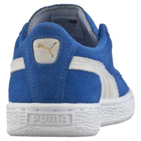Thumbnail 4 of Suede Kids' Trainers, Snorkel Blue-Puma White, medium
